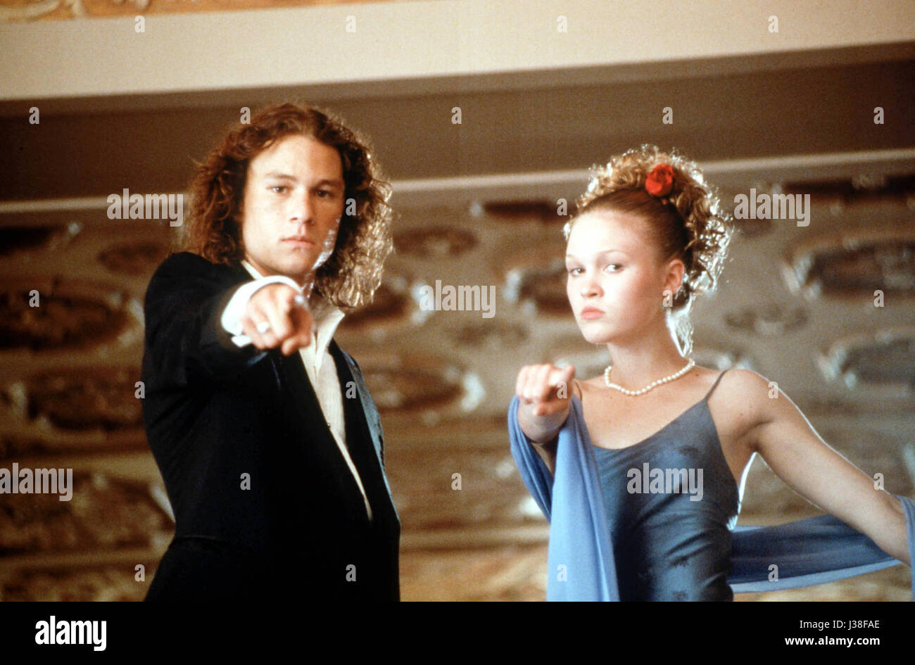 10 THINGS I HATE ABOUT YOU (1999)  HEATH LEDGER  JULIA STILES  GIL YUNGER (DIR)  TOUCHSTONE PICTURES/MOVIESTORE - Stock Image