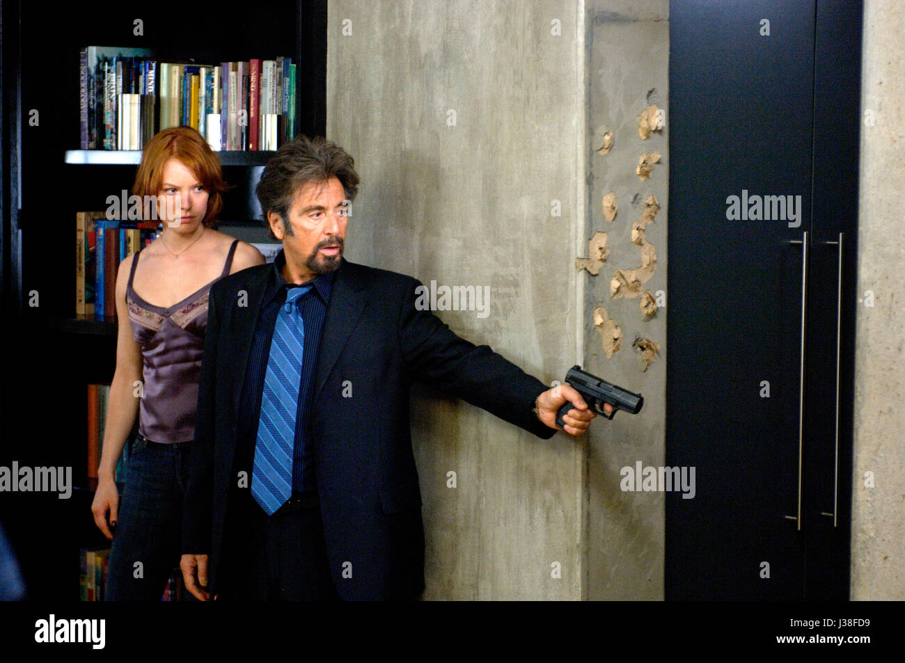 88 MINUTES (2007)  ALICIA WITT  AL PACINO  JON AVNET (DIR)  SONY PICTURES/MOVIESTORE COLLECTION LTD - Stock Image