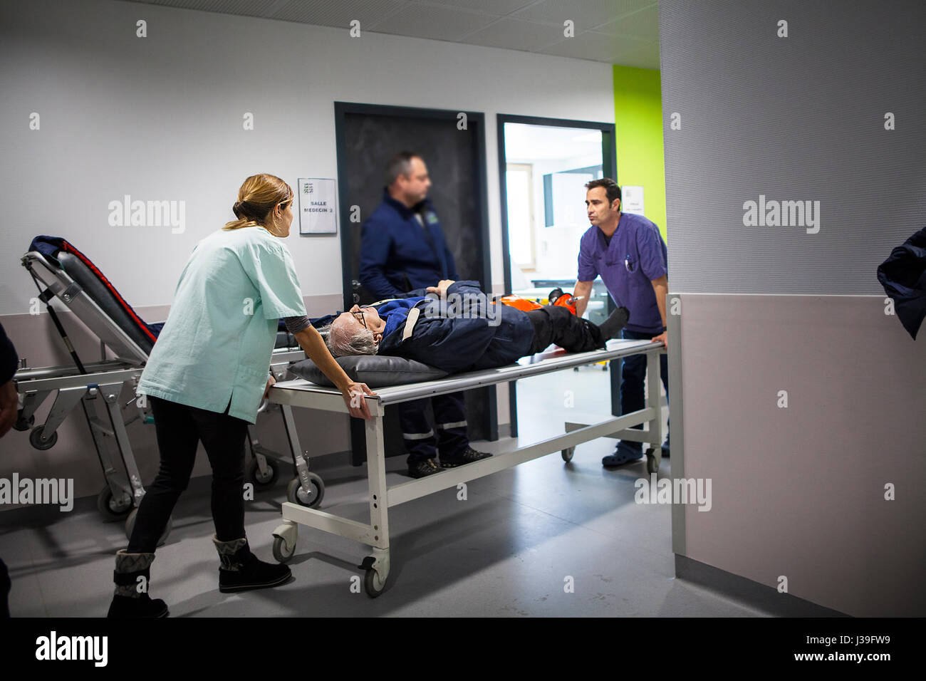 MOUNTAIN DOCTOR - Stock Image