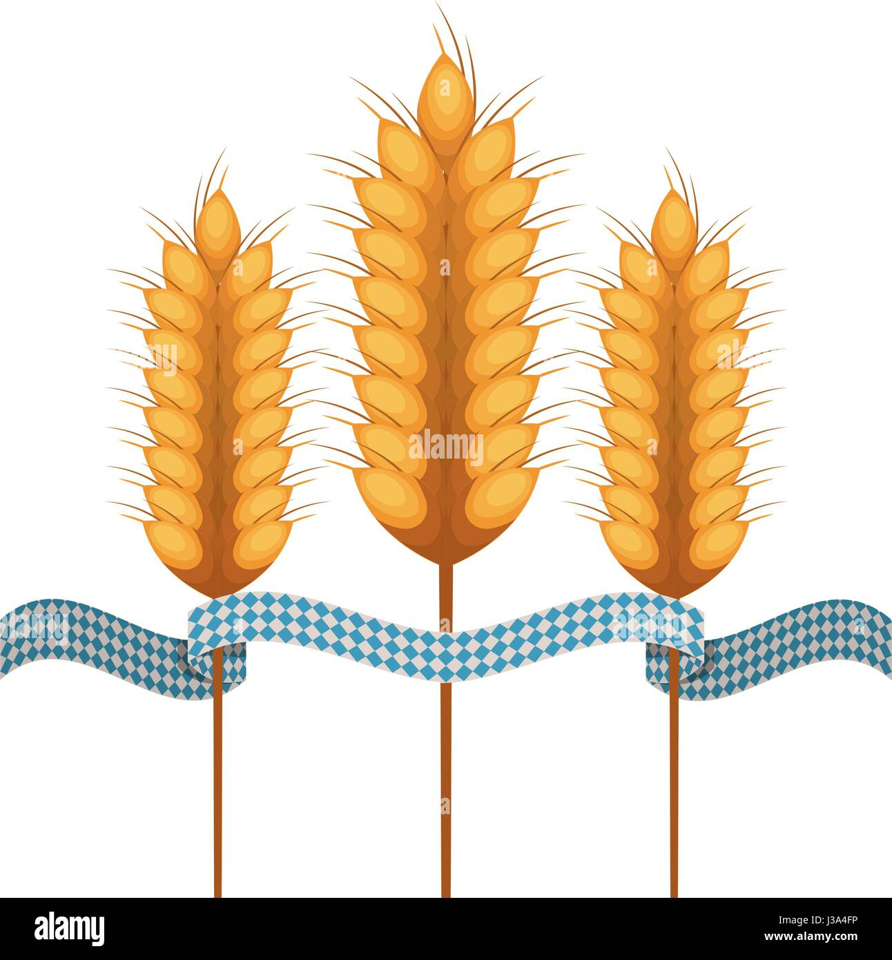 Isolated oktoberfest icon of germany culture - Stock Image