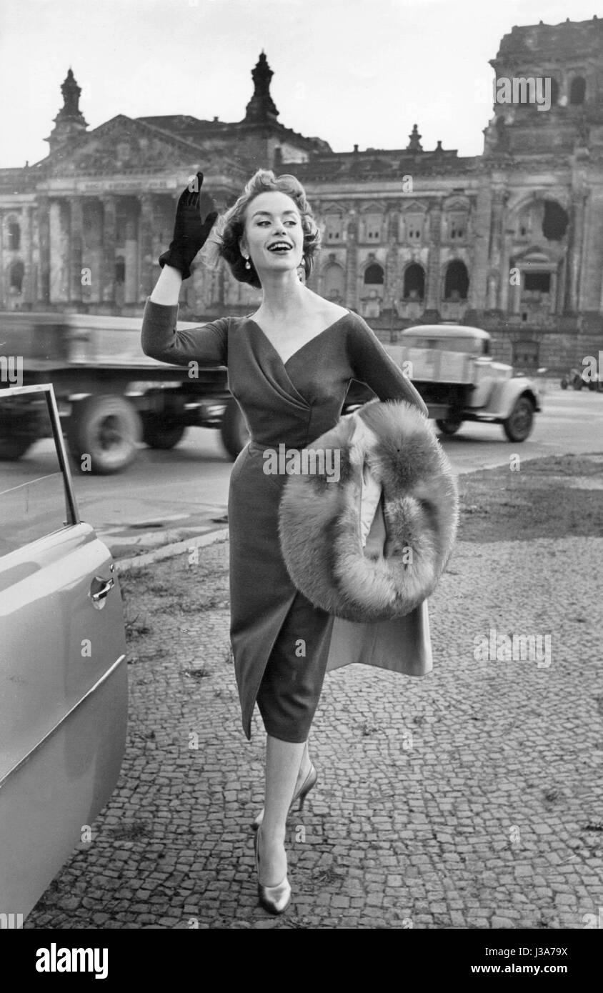 Women's fashion, 1955 Stock Photo - Alamy