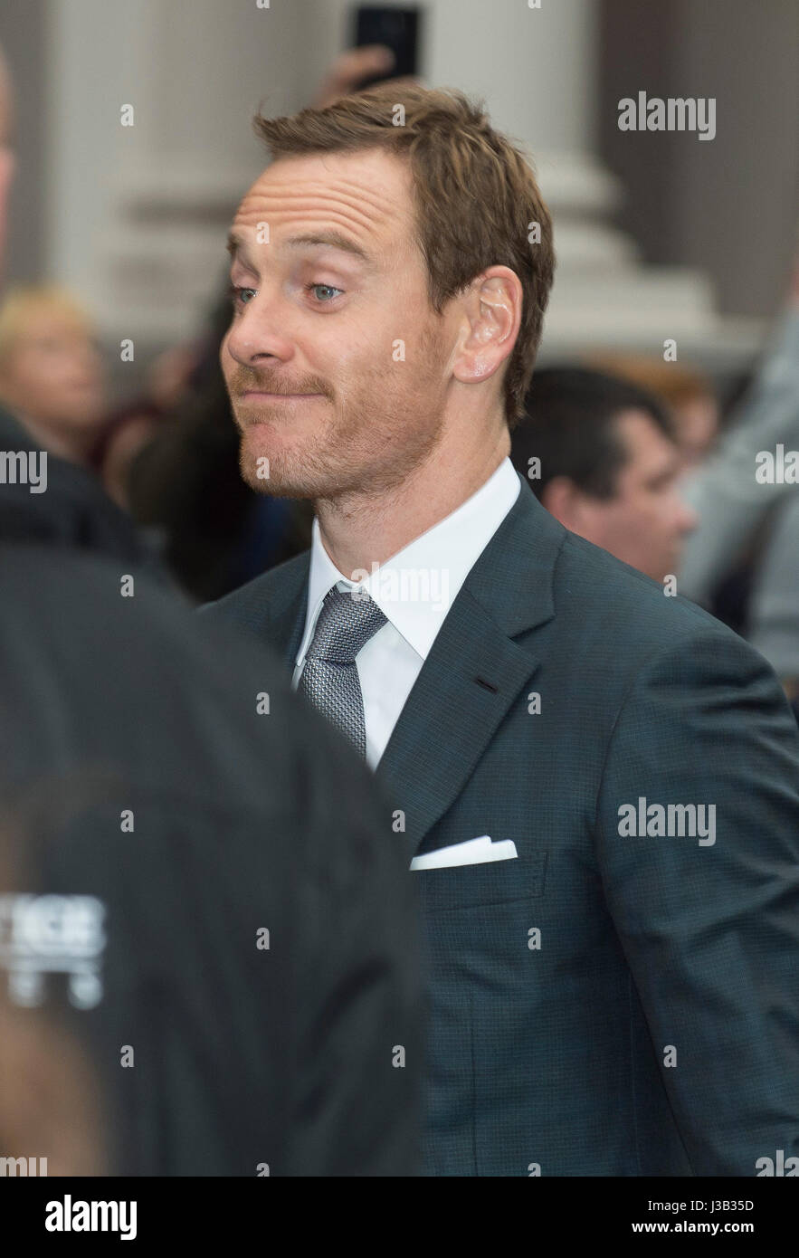 Alien Covenant Film Premiere Red Carpet Arrivals - Stock Image