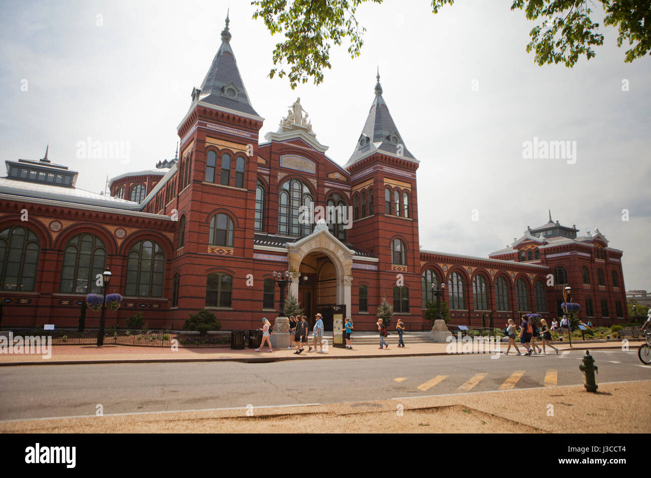 Smithsonian Institution Arts and Industries building - Washington, DC USA - Stock Image