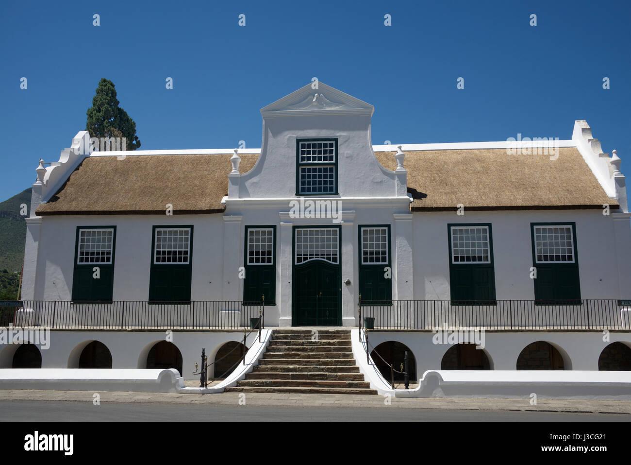 Reinets House Classic Example Cape Dutch Architecture Graaff Reinet