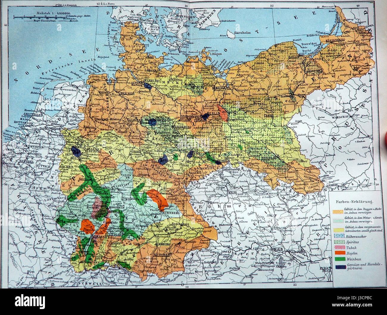 Deutsches Reich Landwirtschaft Stock Photo 139807904 Alamy
