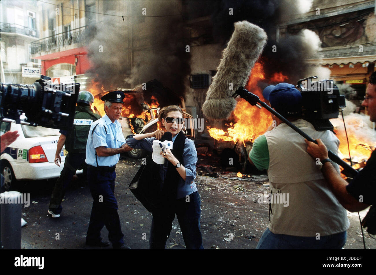 11'09'01 september 11   segment Israel Year: 2002 - UK / France / Egypt / Japan / Mexico / USA / Iran Keren - Stock Image