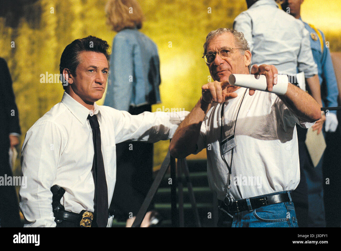 The Interpreter Year : 2005 USA / UK Director : Sydney Pollack Sydney Pollack, Sean Penn Shooting picture - Stock Image