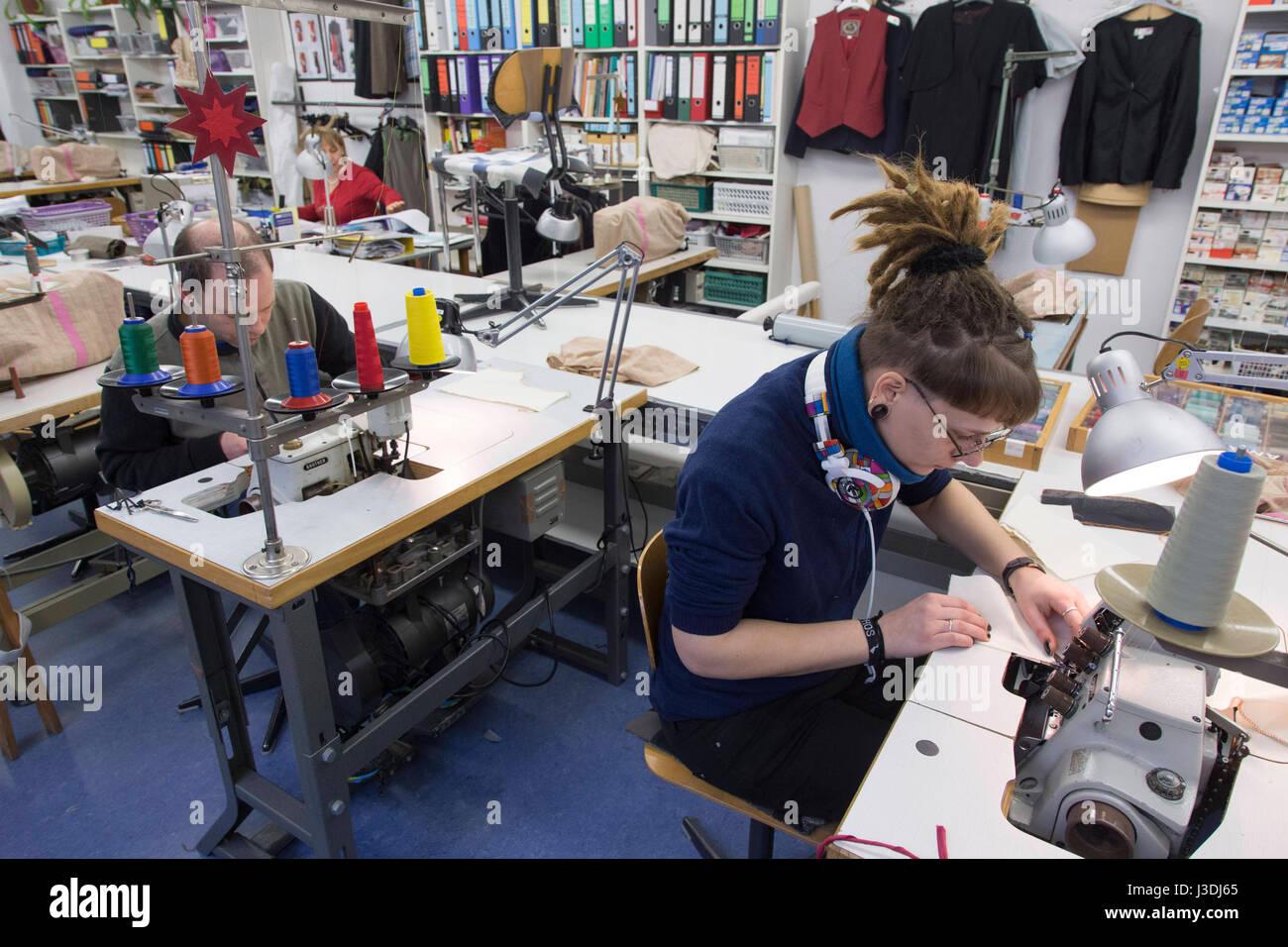 Fashion Designer Training Stock Photo Alamy