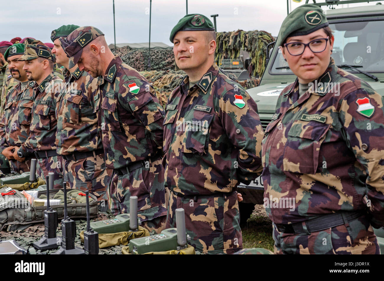 Soldiers. Hungarian