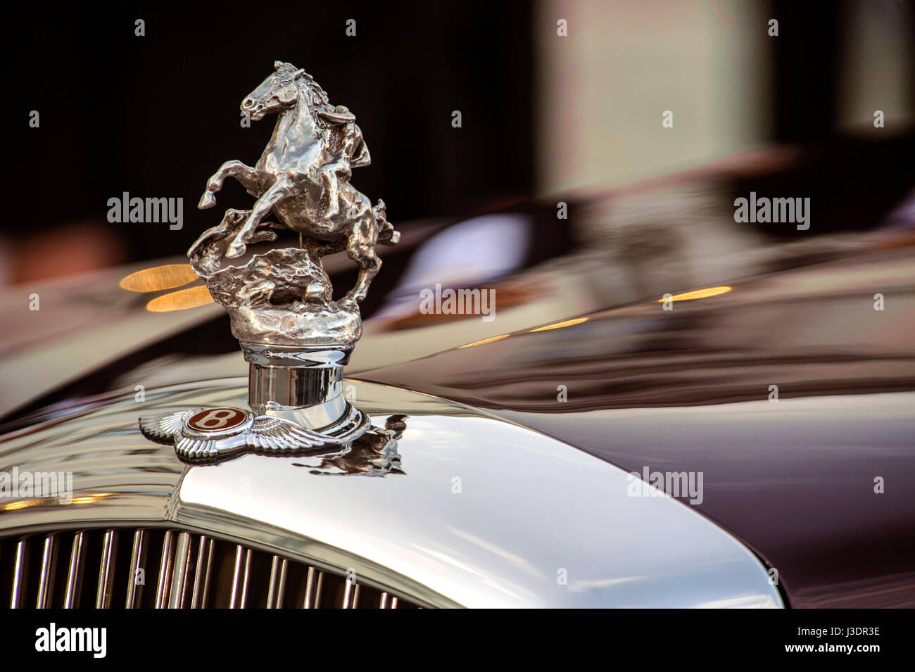 royal snail  britain england queen Elizabeth car hood ornament