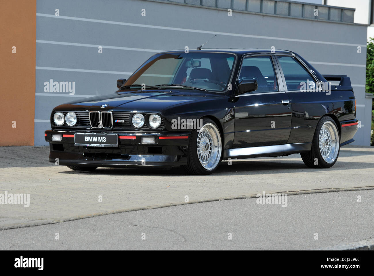 BMW E30 Shape M3 German Super Saloon Car   Stock Image