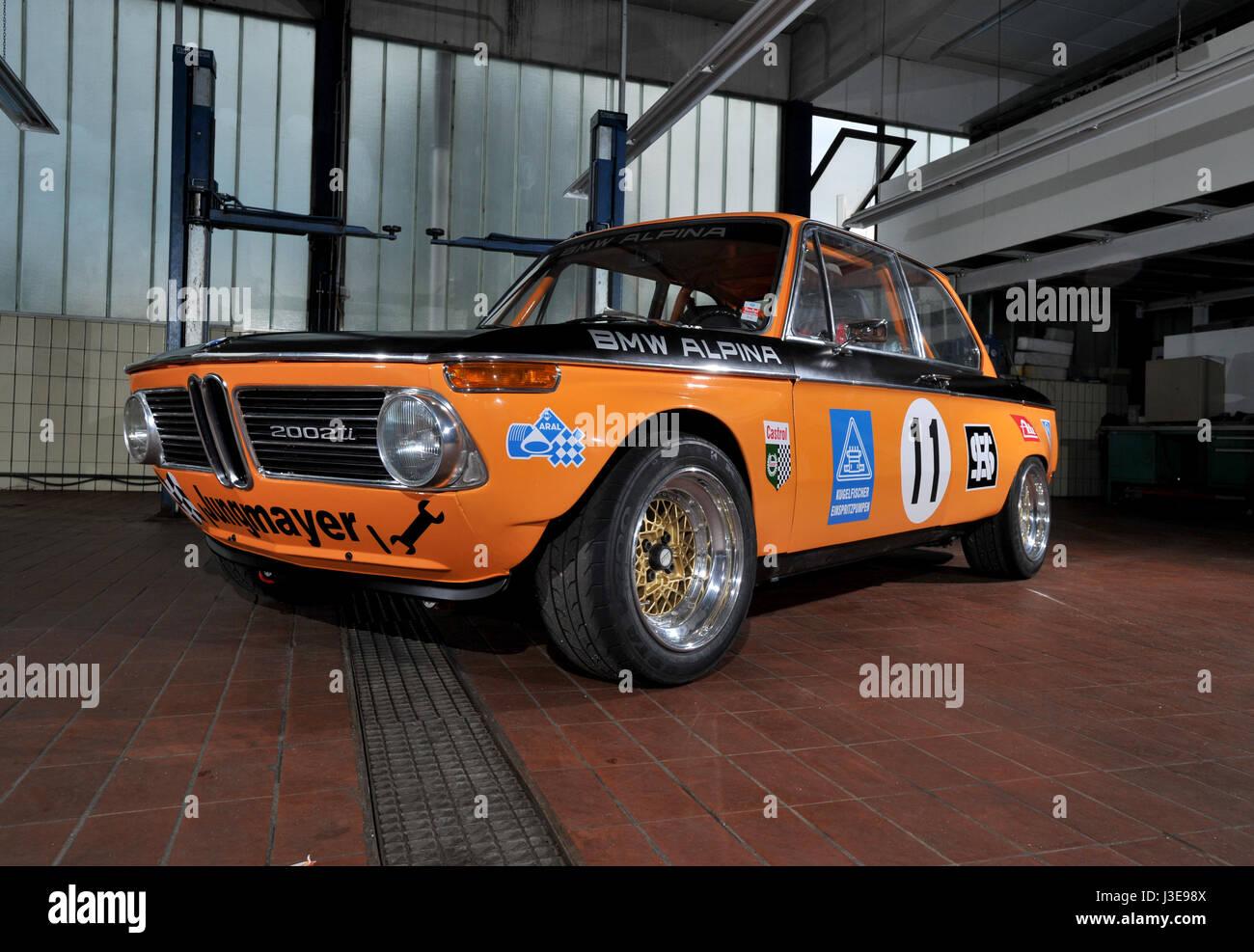 Bmw Alpina 2002 Ti Race Car German Classic Car Stock Photo Alamy