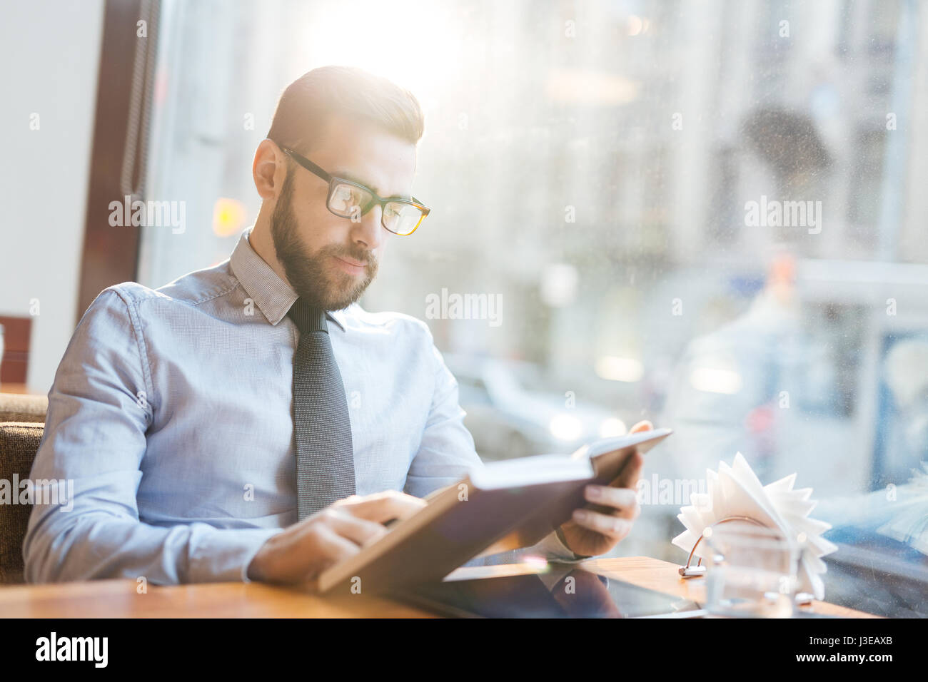 Busy entrepreneur - Stock Image