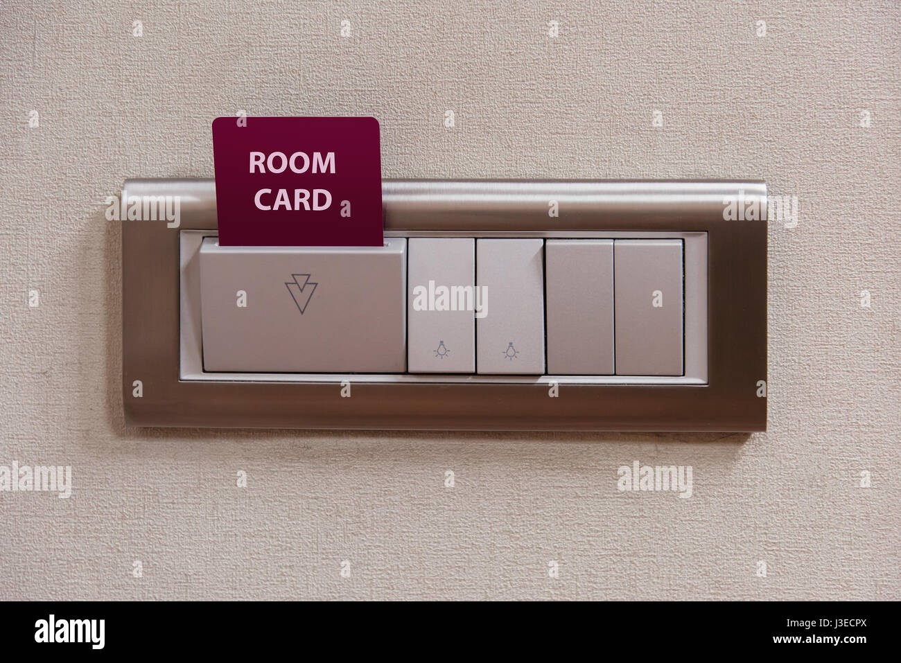 Hotel key card insert to power switch control of the electric and ...
