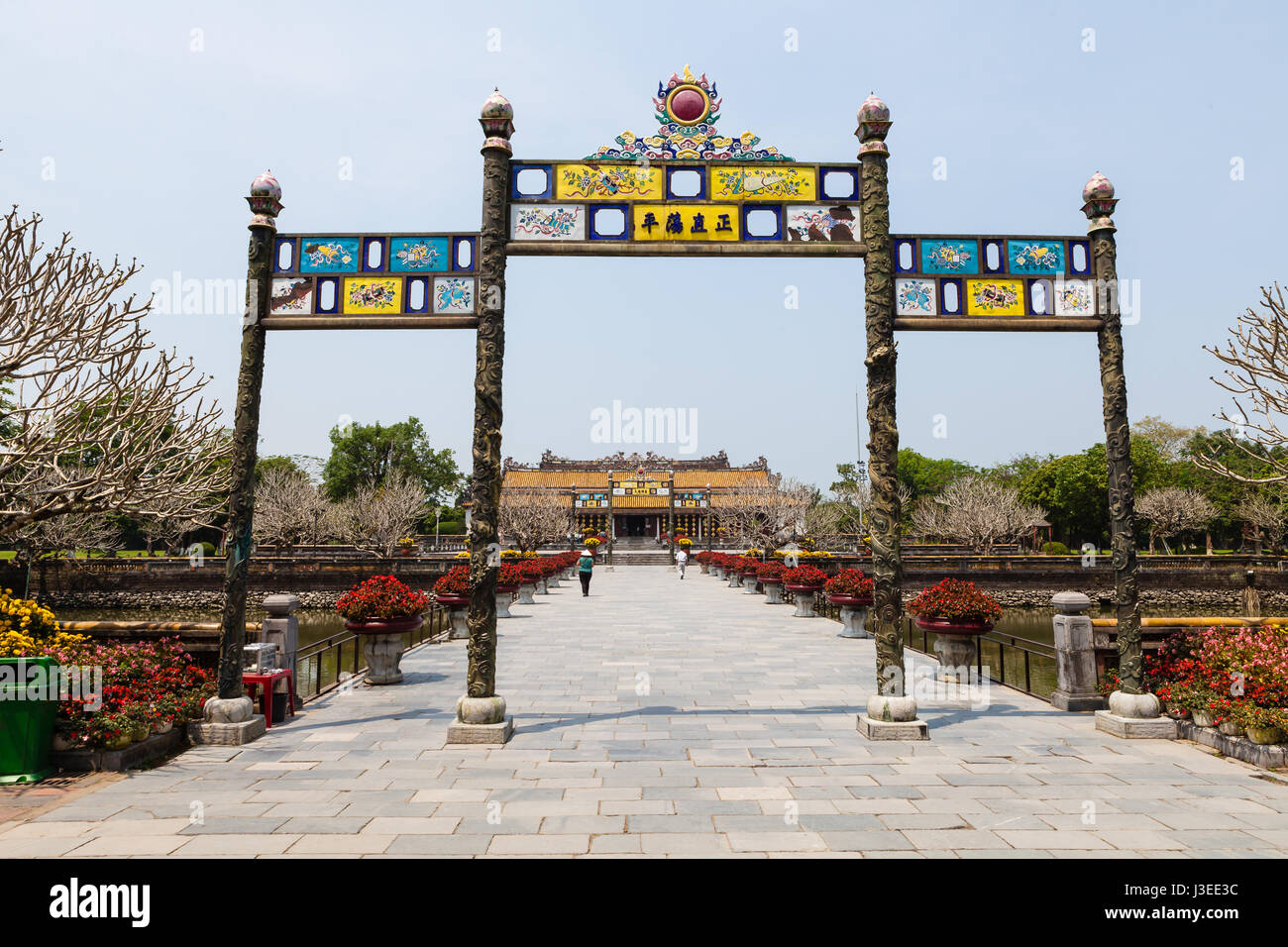 Hoi An, Vietnam - march 10 2017: Imperial Citadel (Imperial City), Hue, Vietnam Stock Photo