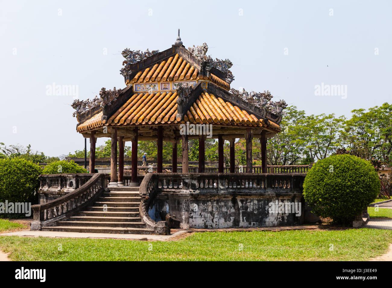 Hoi An, Vietnam - march 10 2017: Imperial Citadel (Imperial City), Hue, Vietnam Stock Photo