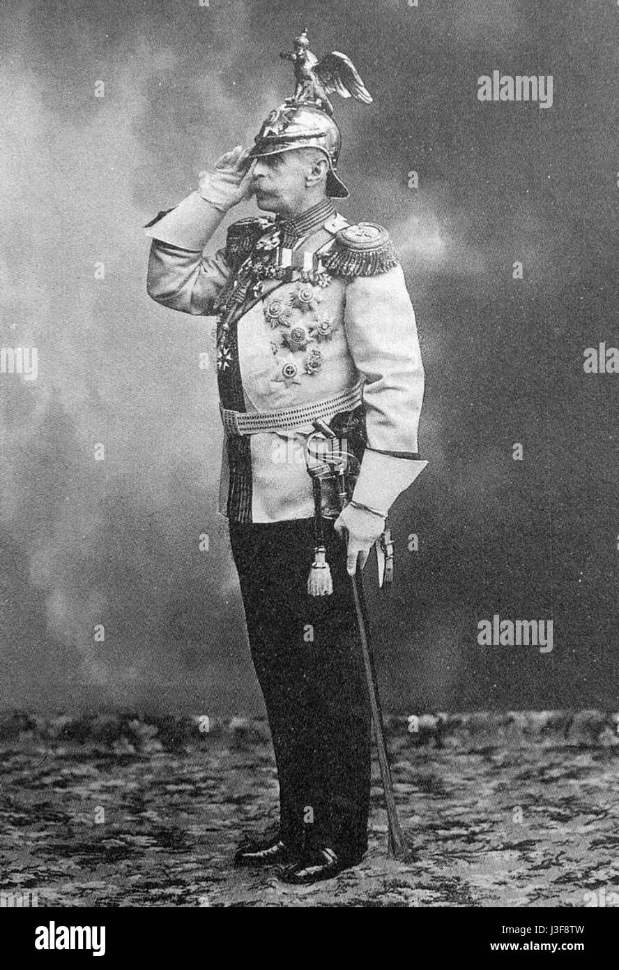 Frederiks V.B. 1913 Karl Bulla - Stock Image