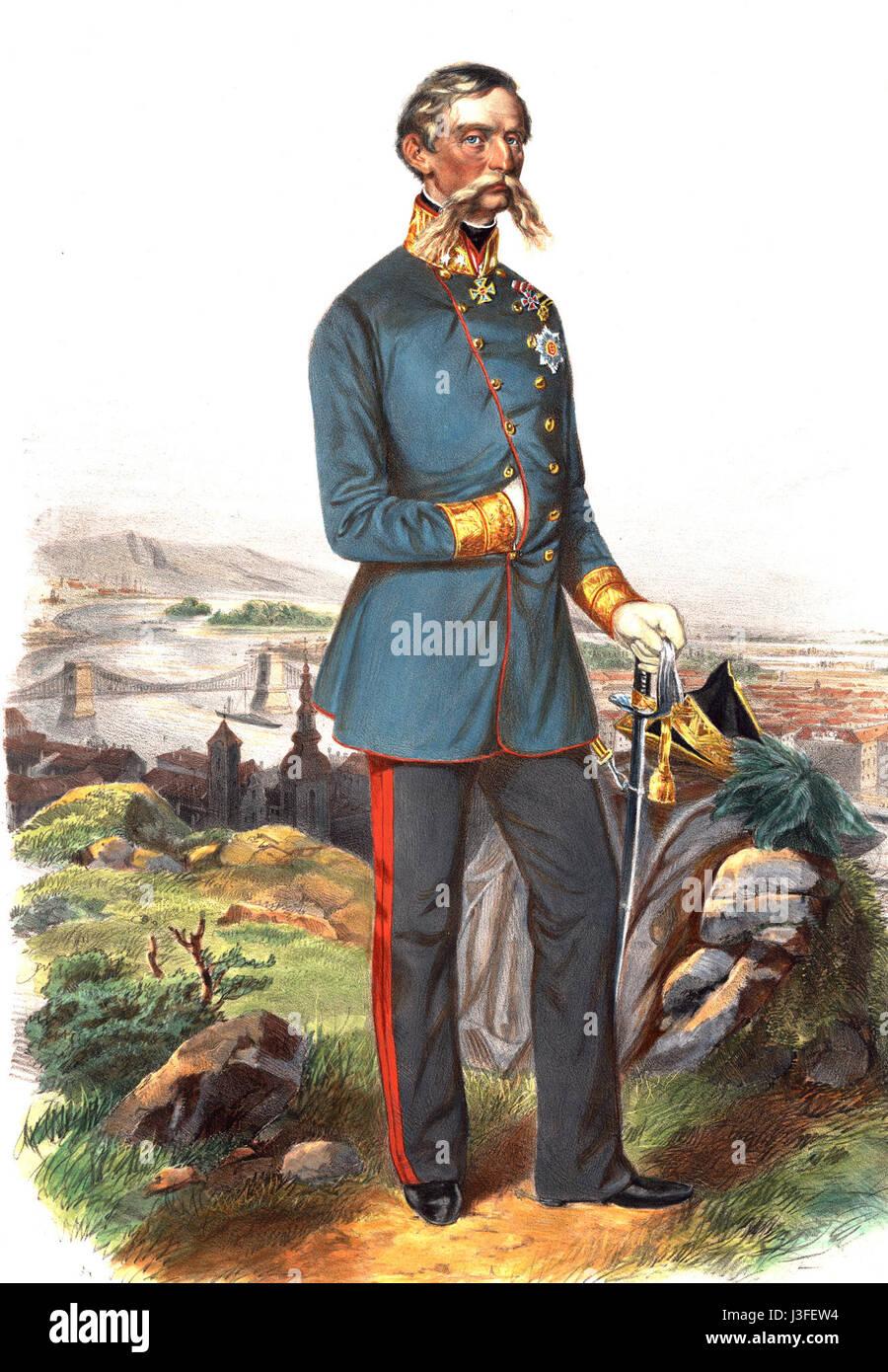 Feldzeugmeister Freyherr von Haynau Stock Photo