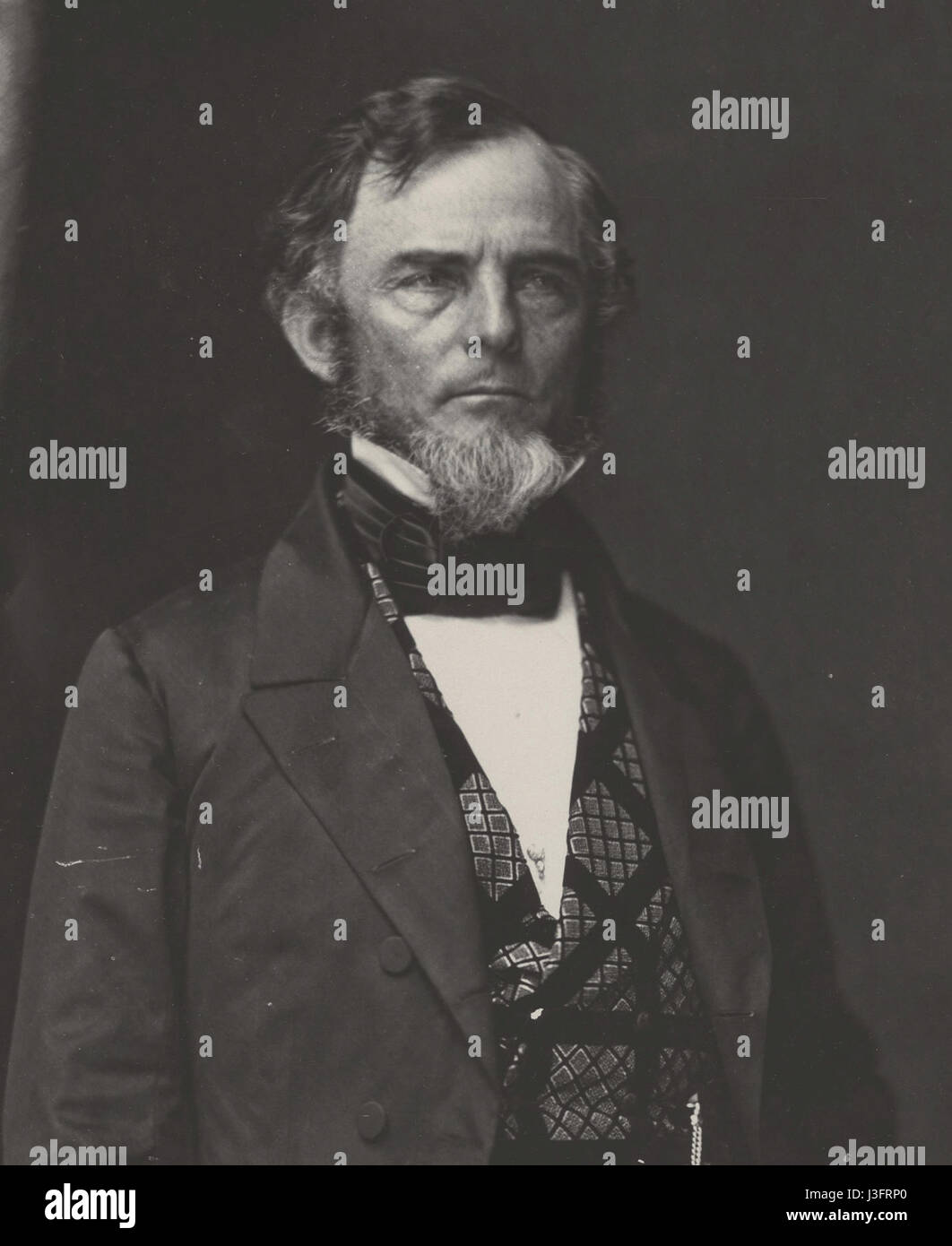 General Gideon Johnson Pillow - Stock Image
