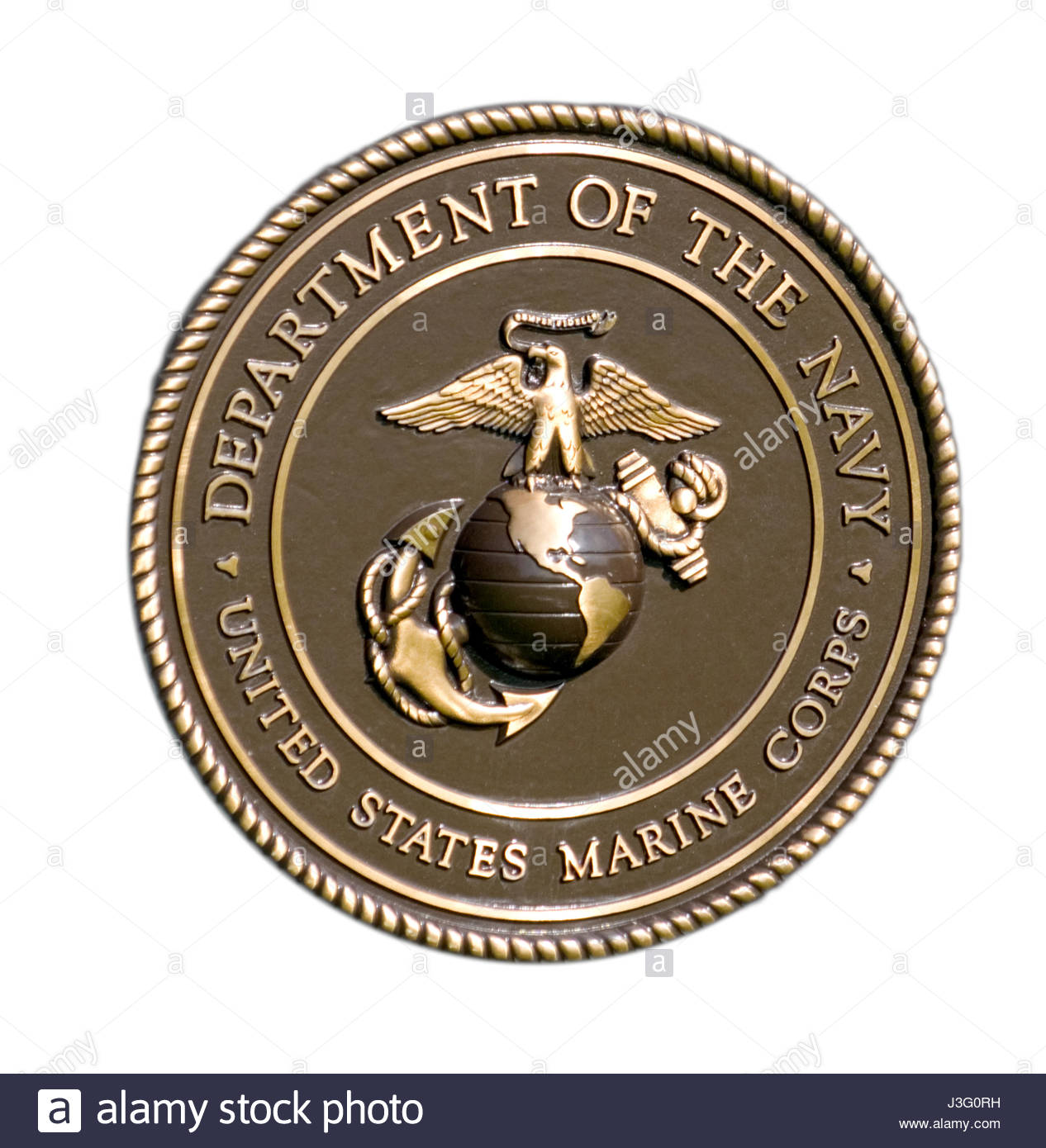 the seal of the united states marine corps department of the navy stock photo 139878805 alamy. Black Bedroom Furniture Sets. Home Design Ideas