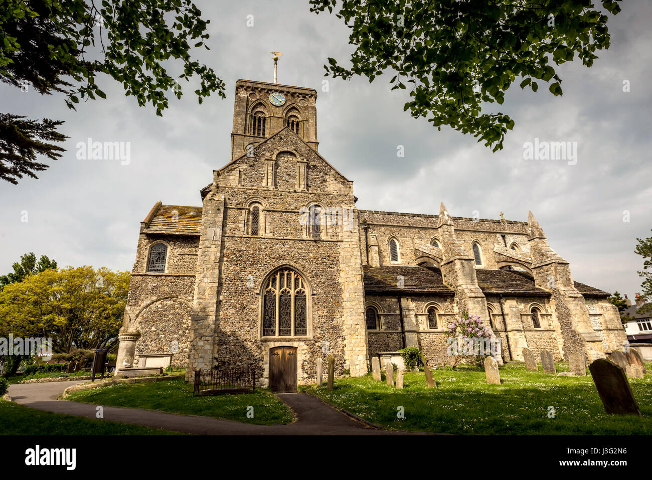 Solid Foundation Stock Photos Images Page Bross Haura St Mary De Church Shoreham Image
