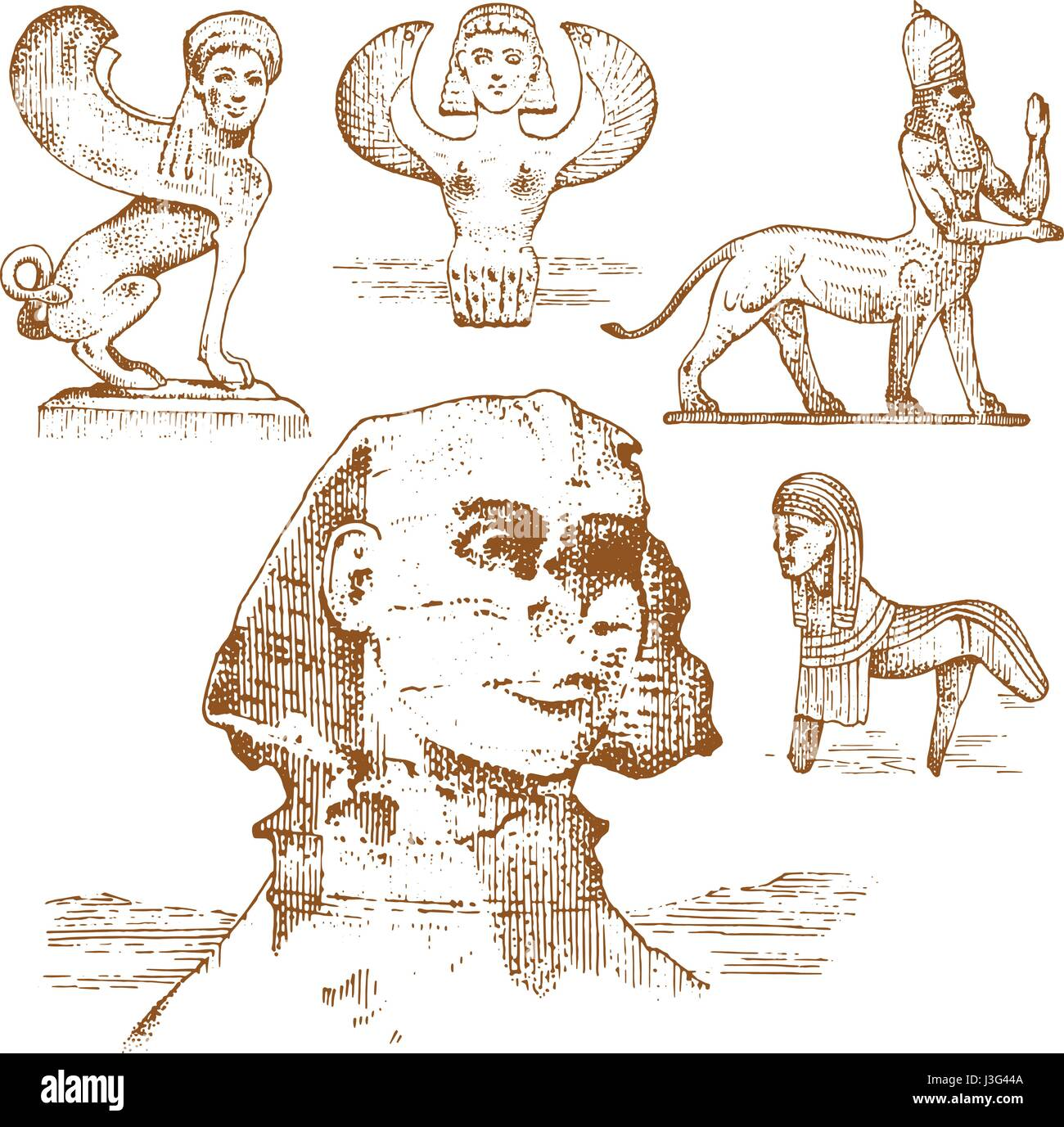 Ancient Egypt Stock Vector Images Alamy