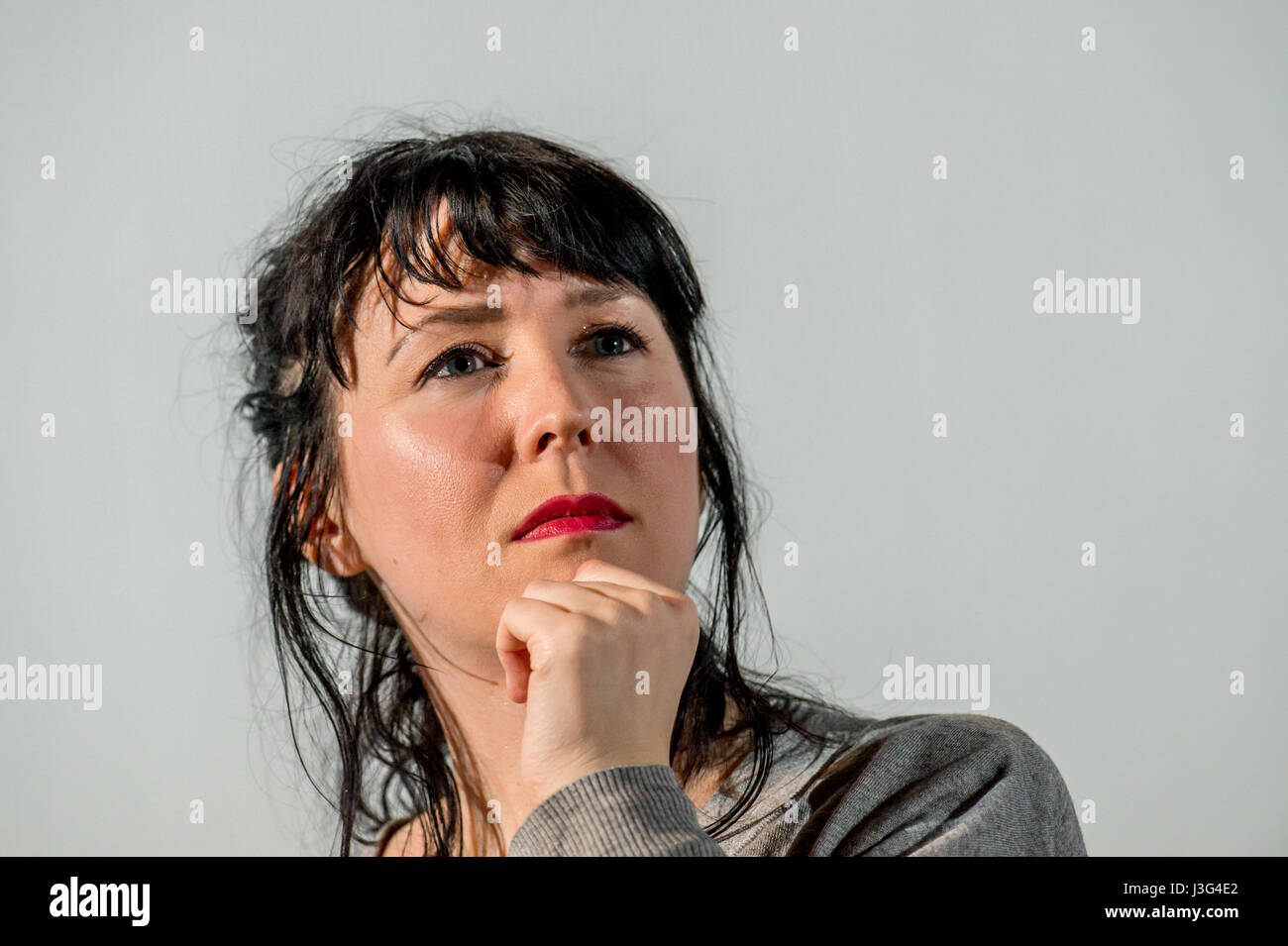 Alice Eva Lowe, writer and actress - Stock Image