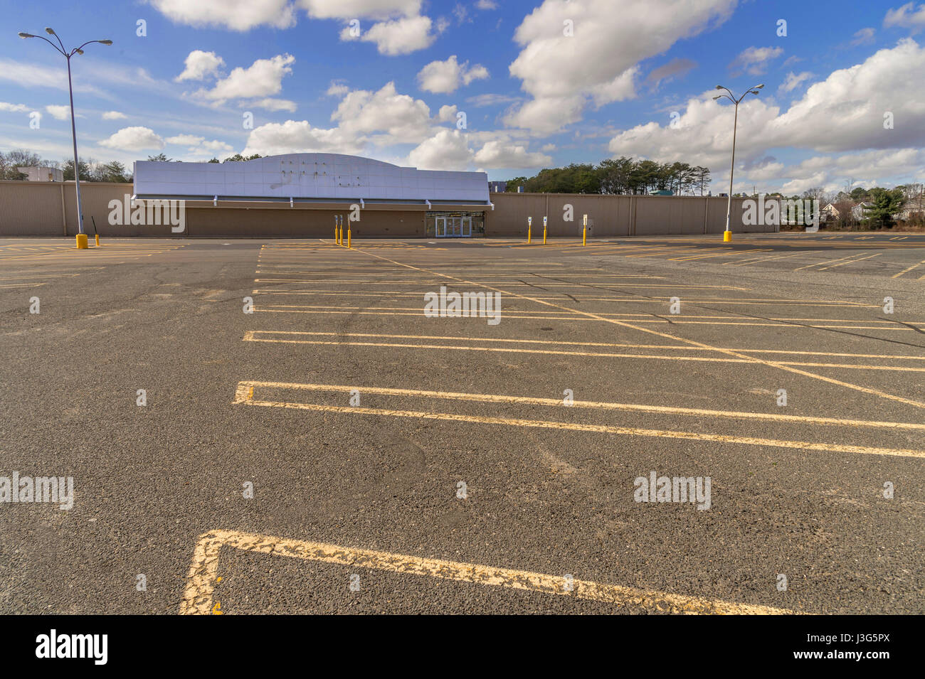 Closed Retail Store - Stock Image