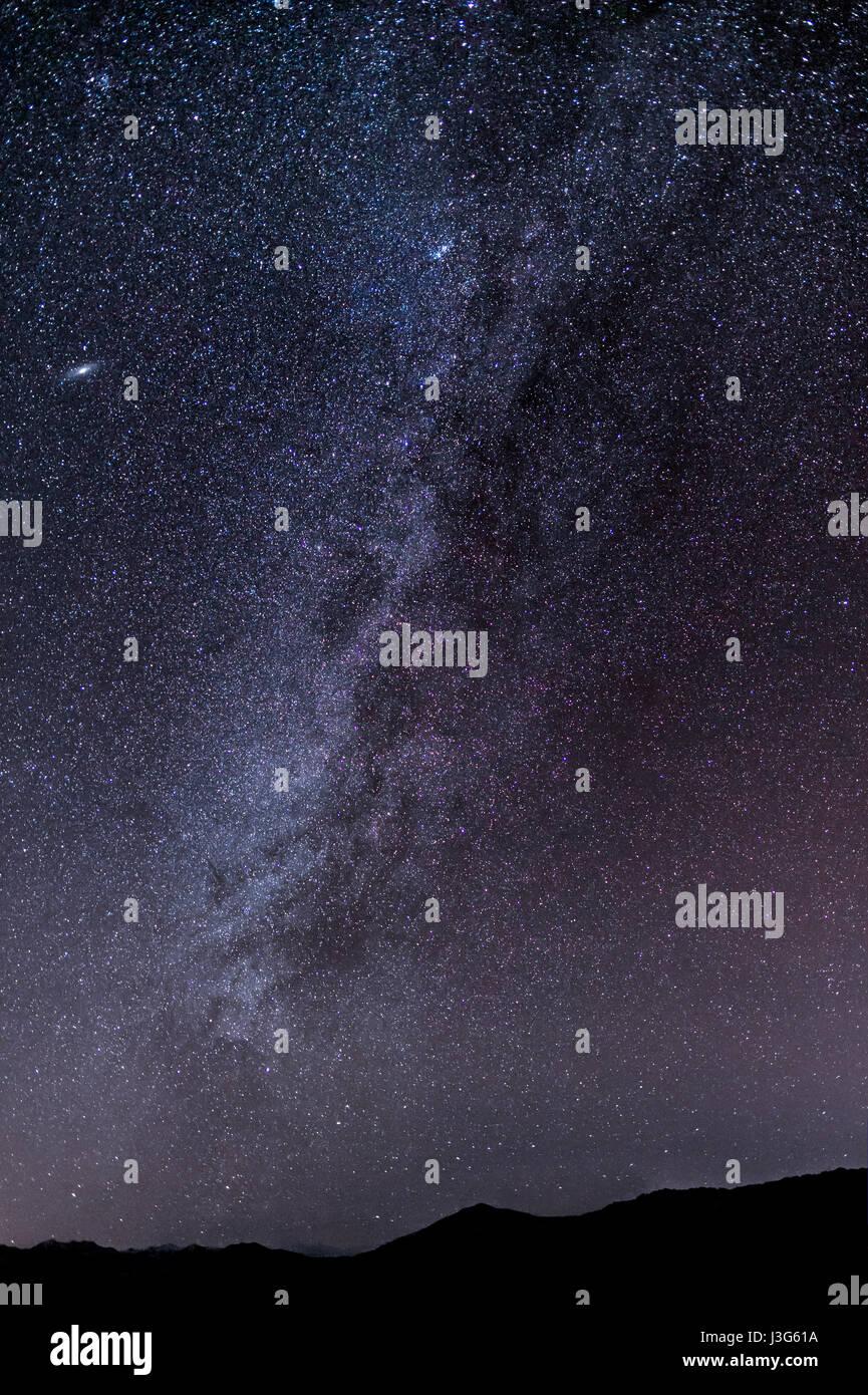Milky Way Stars - Stock Image
