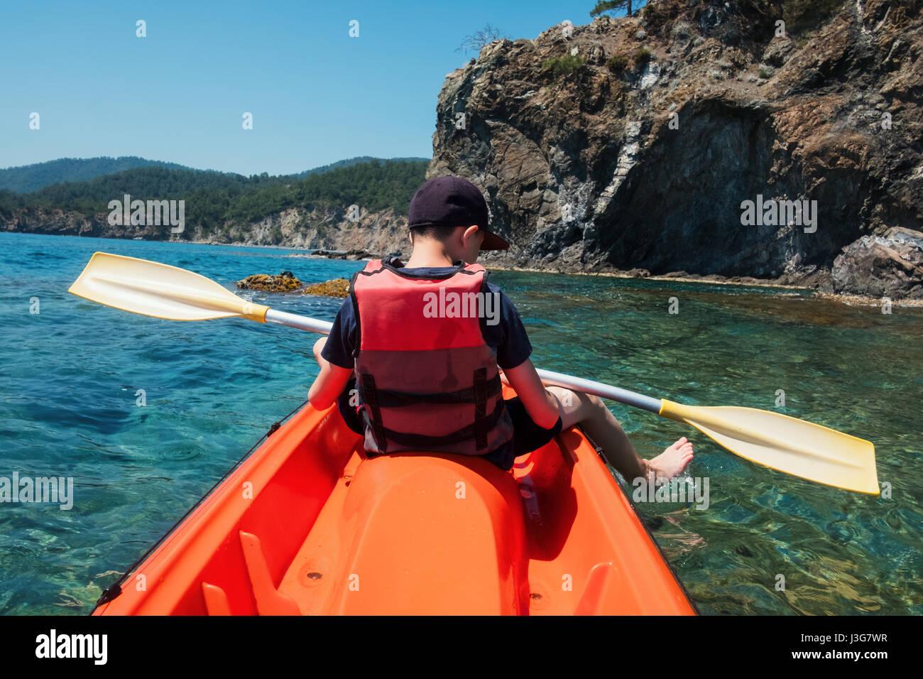 Orange Kayak Stock Photos Amp Orange Kayak Stock Images Alamy
