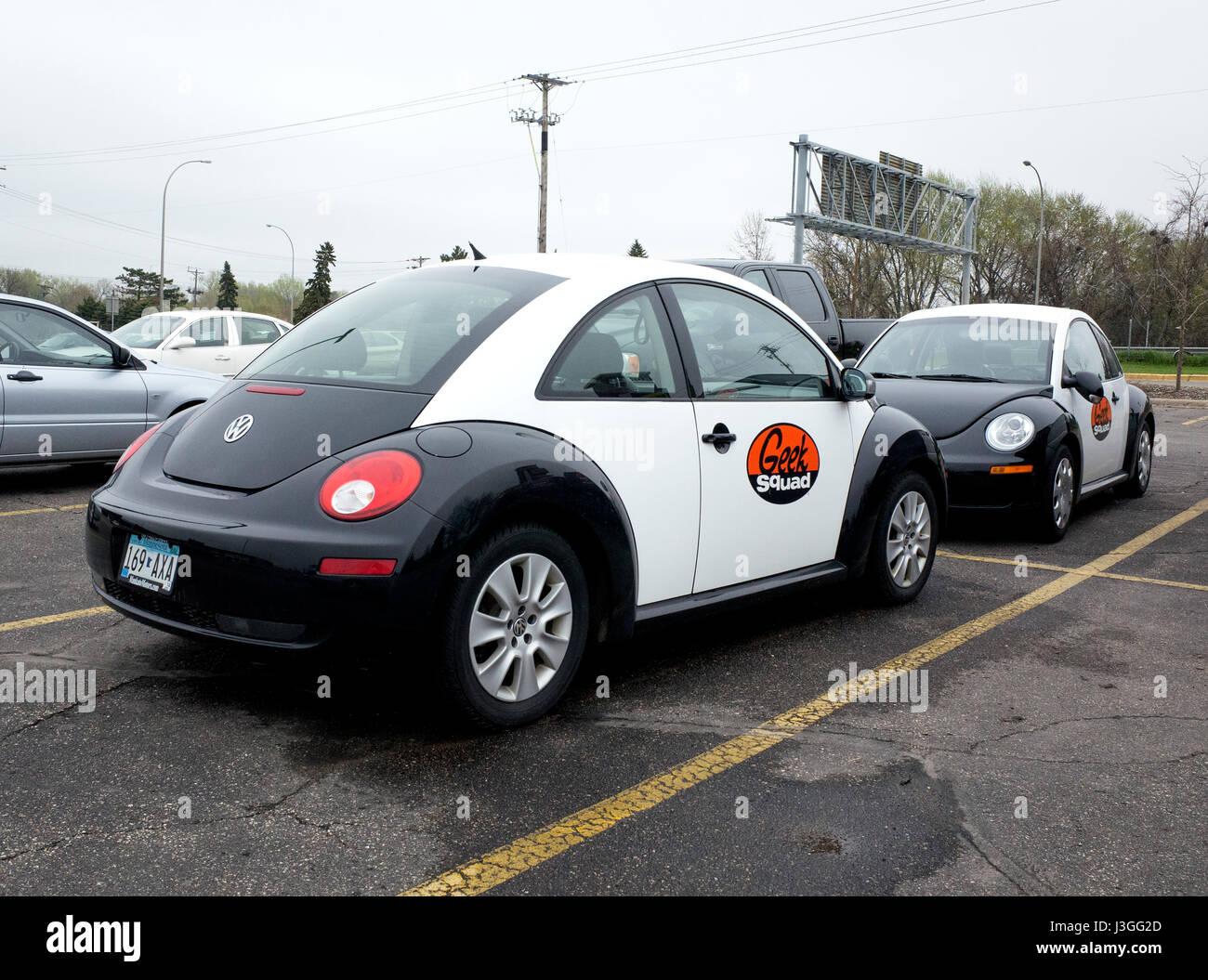 Best Buy Geek Squad Volkswagen Beetle Roseville Minnesota Mn Usa