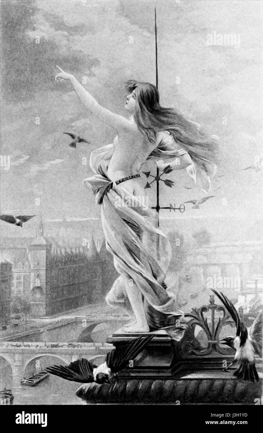 Fernand Le Quesne   La Girouette - Stock Image