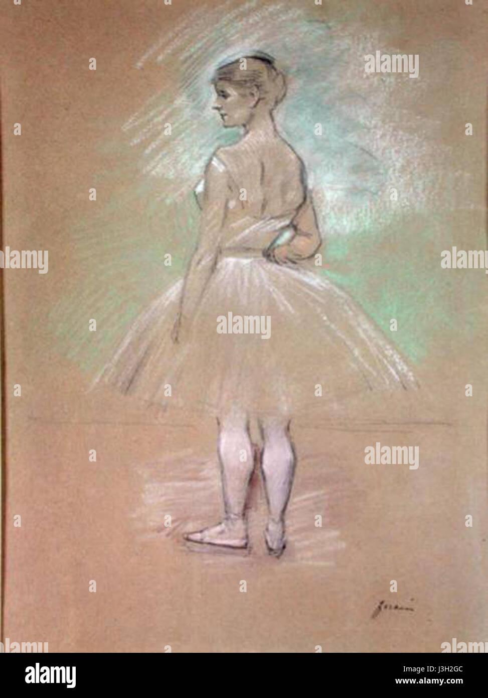 Forain   Dancer - Stock Image