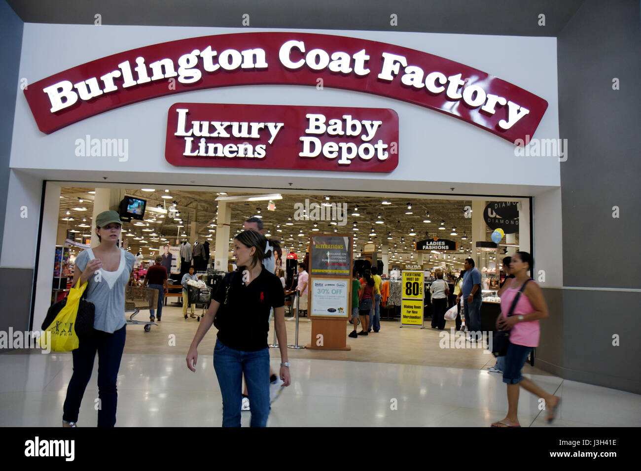 Miami Florida Dolphin Mall Burlington Coat Factory outlet store woman women  shop shopper shopping bag buy sell retail clothing l ee728643ae1fa