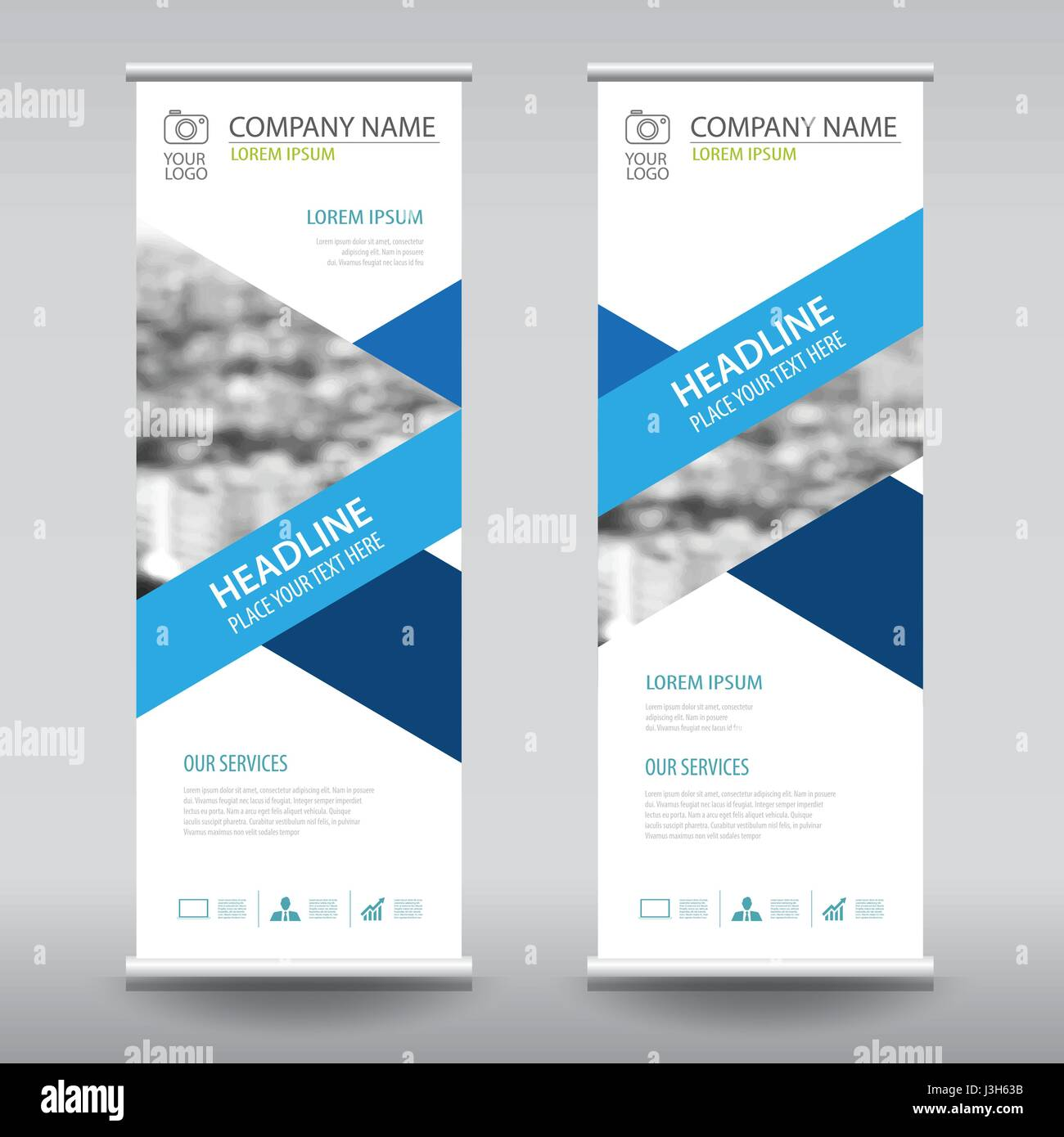 roll up business brochure flyer banner design vertical template vector cover presentation abstract geometric background modern publication x banner