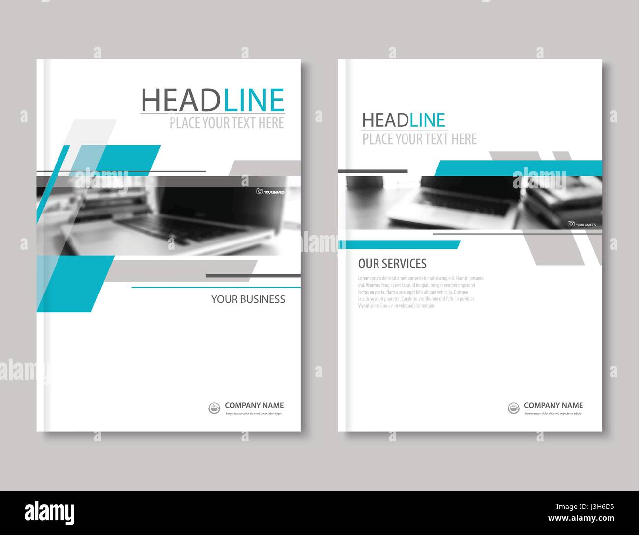 annual report brochure flyer design template company profile business headlineleaflet cover presentation flat background