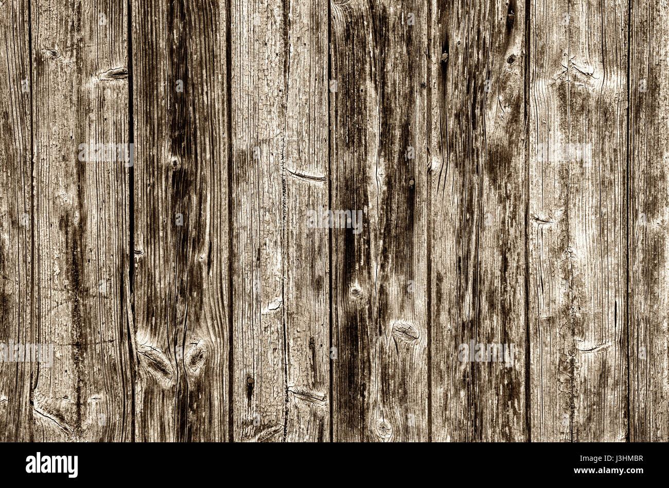 Old wood planks, background - Stock Image
