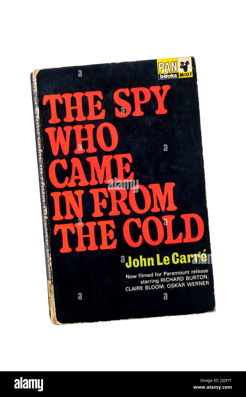 Paperback copy of The Spy Who Came In From The Cold by John Le Carré (David Cornwell). First published in 1963. - Stock Image