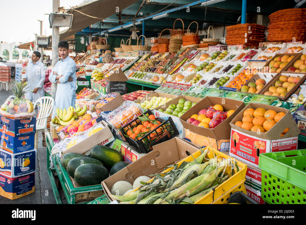 Vegetable Market Abu Dhabi Stock Photos & Vegetable Market Abu Dhabi