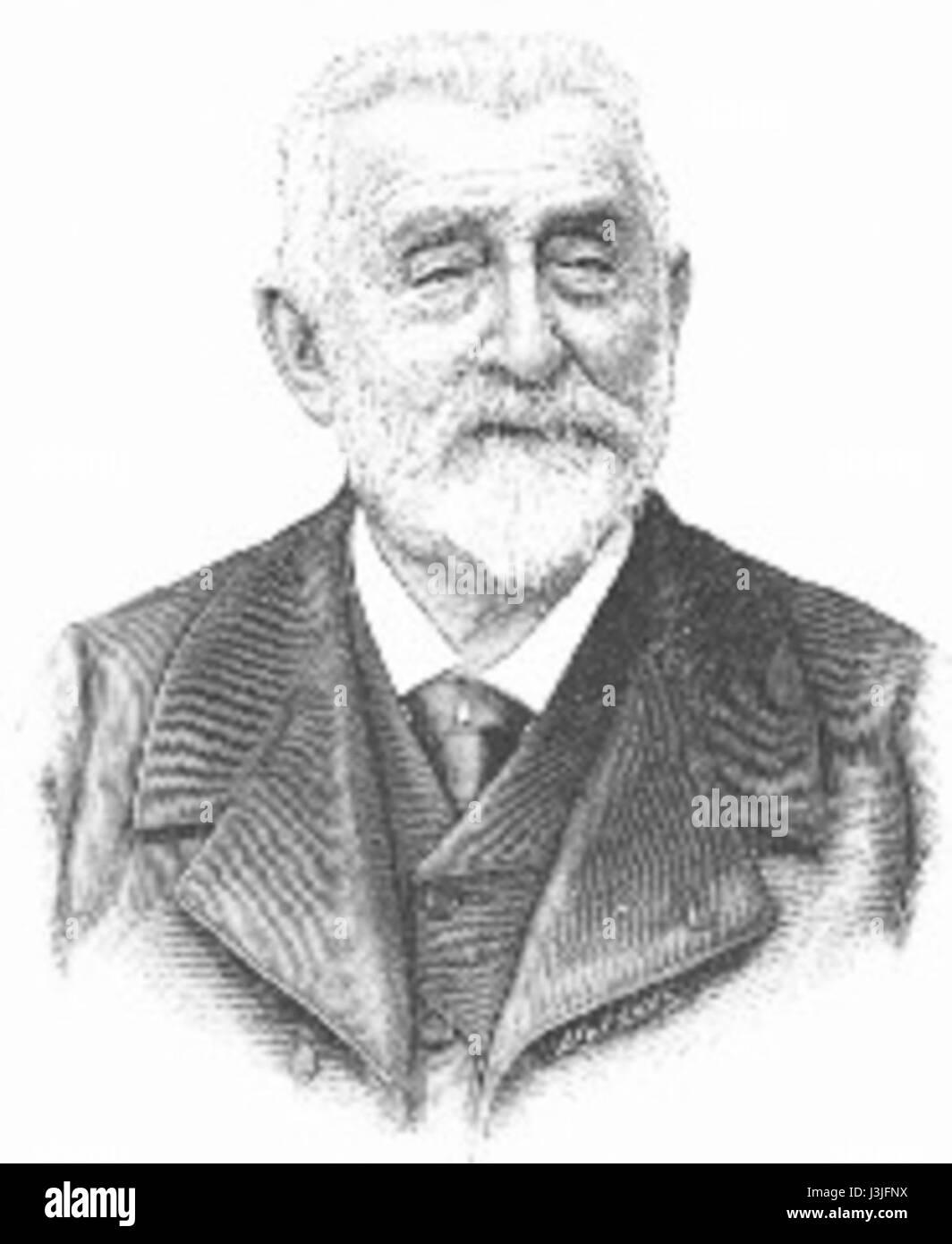 Henri Harpignies - Stock Image