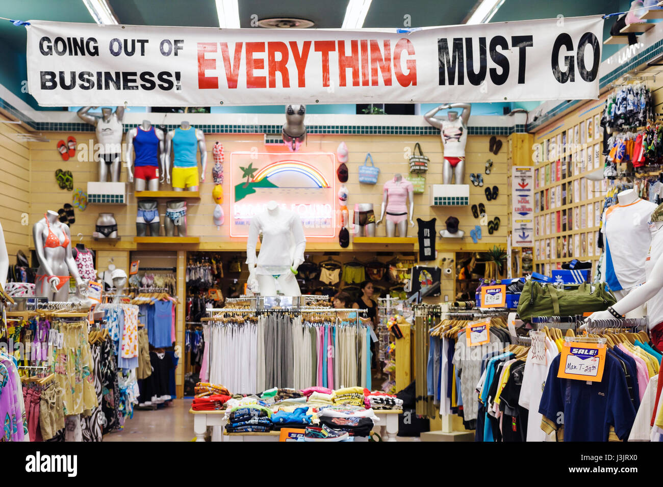 Liquidating a small retail business