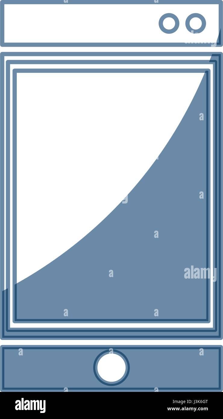 smartphone technology communication gadget - Stock Image