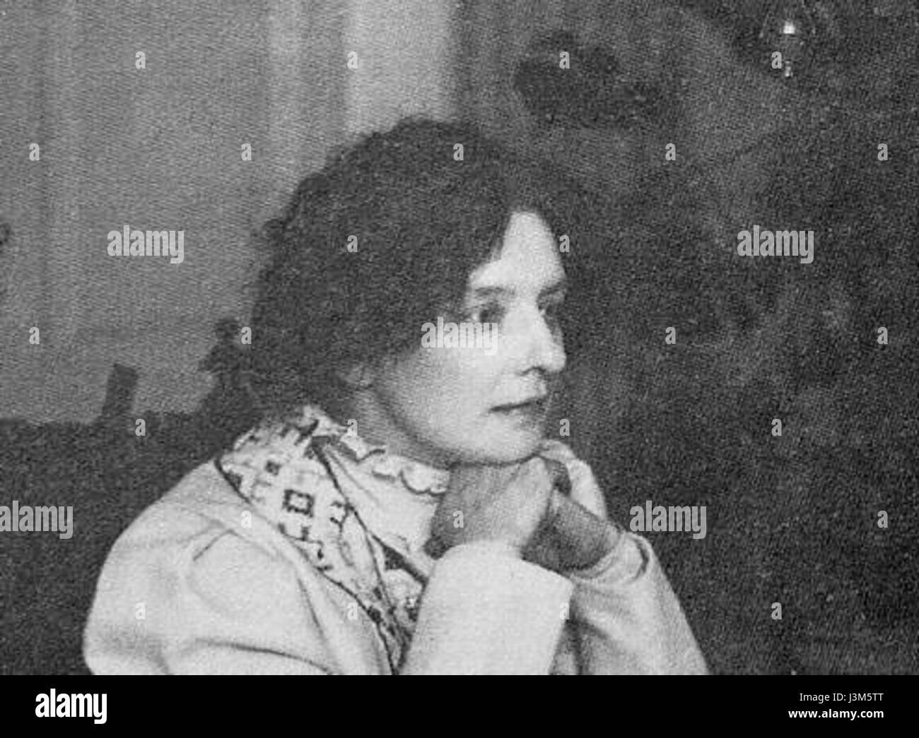 Gippius Z.N. doma 1914 Karl Bulla - Stock Image