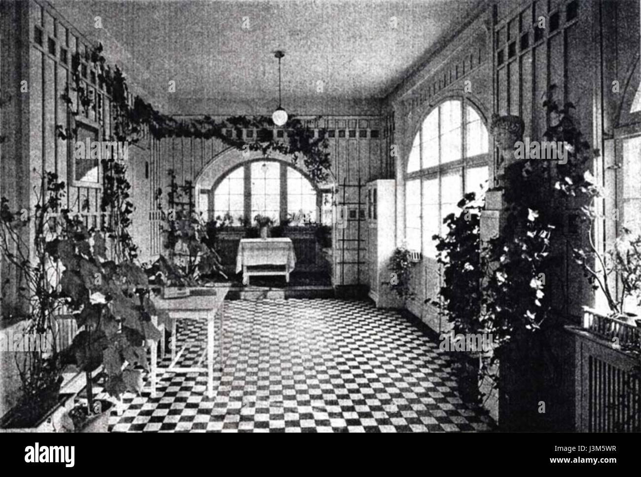 Haus Muthesius Wintergarten Stock Photo 139970595 Alamy
