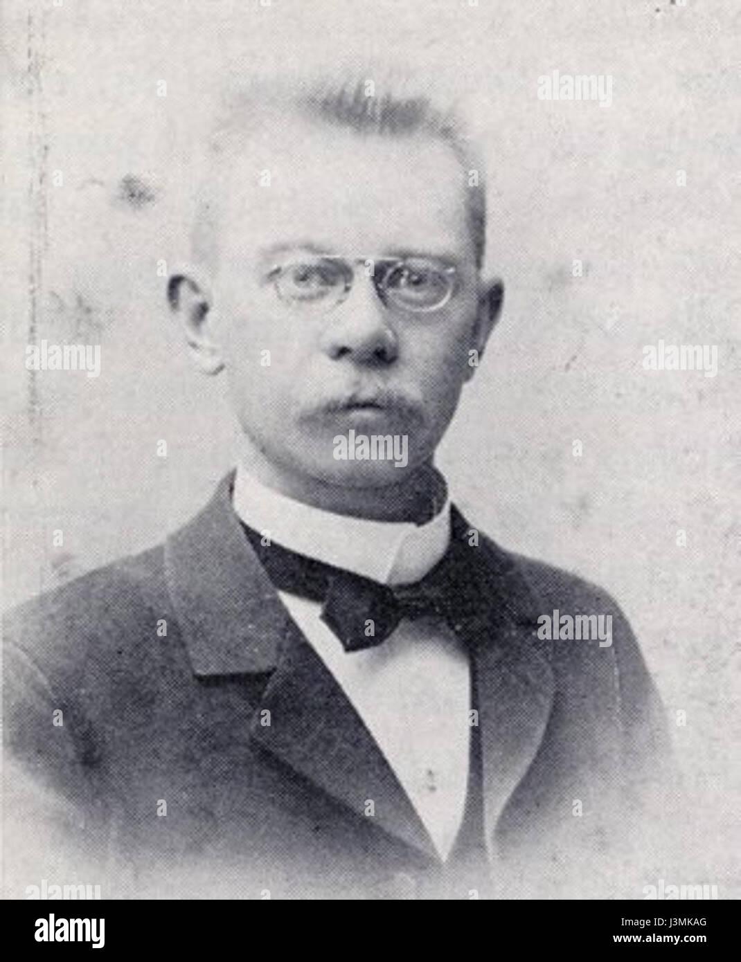 Gideon Danell 1902 - Stock Image