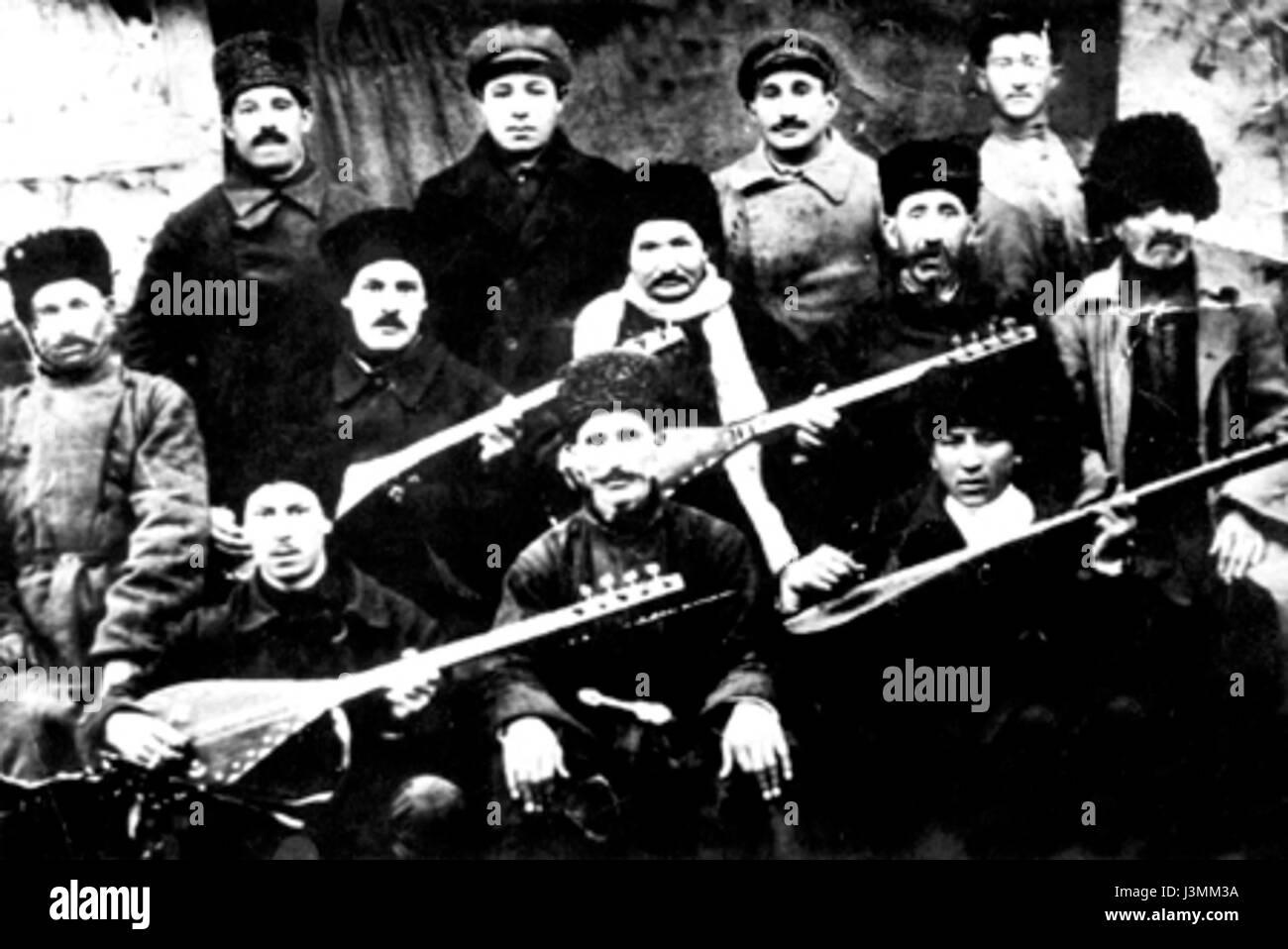 Historical photos of Azerbaijani   04 - Stock Image