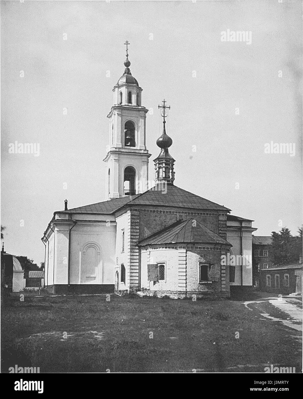 Holy Trinity Church in Shabalovka 2 - Stock Image