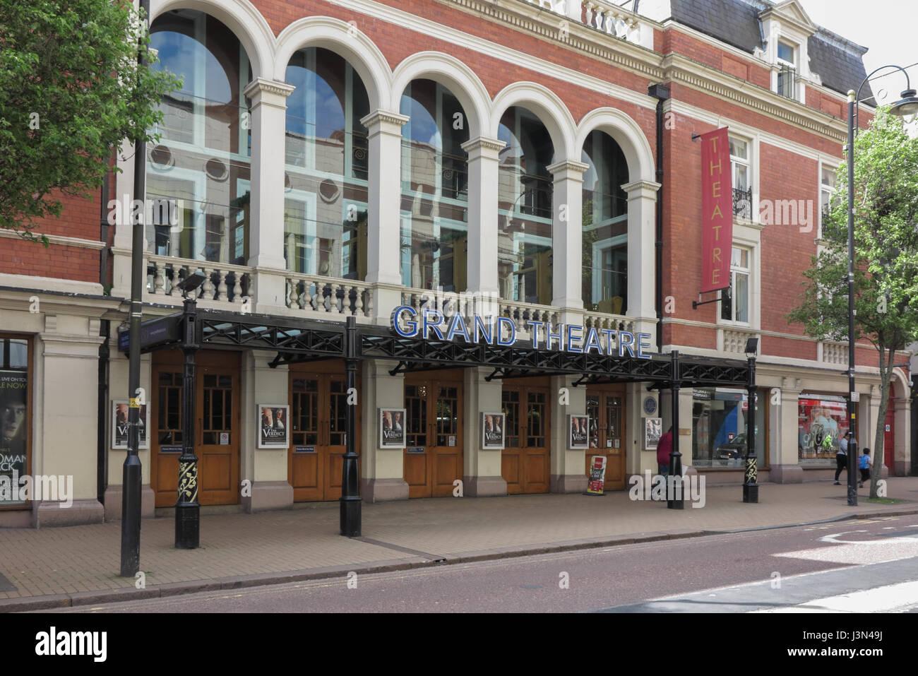 Grand Theatre, Lichfield Street, Wolverhampton - Stock Image