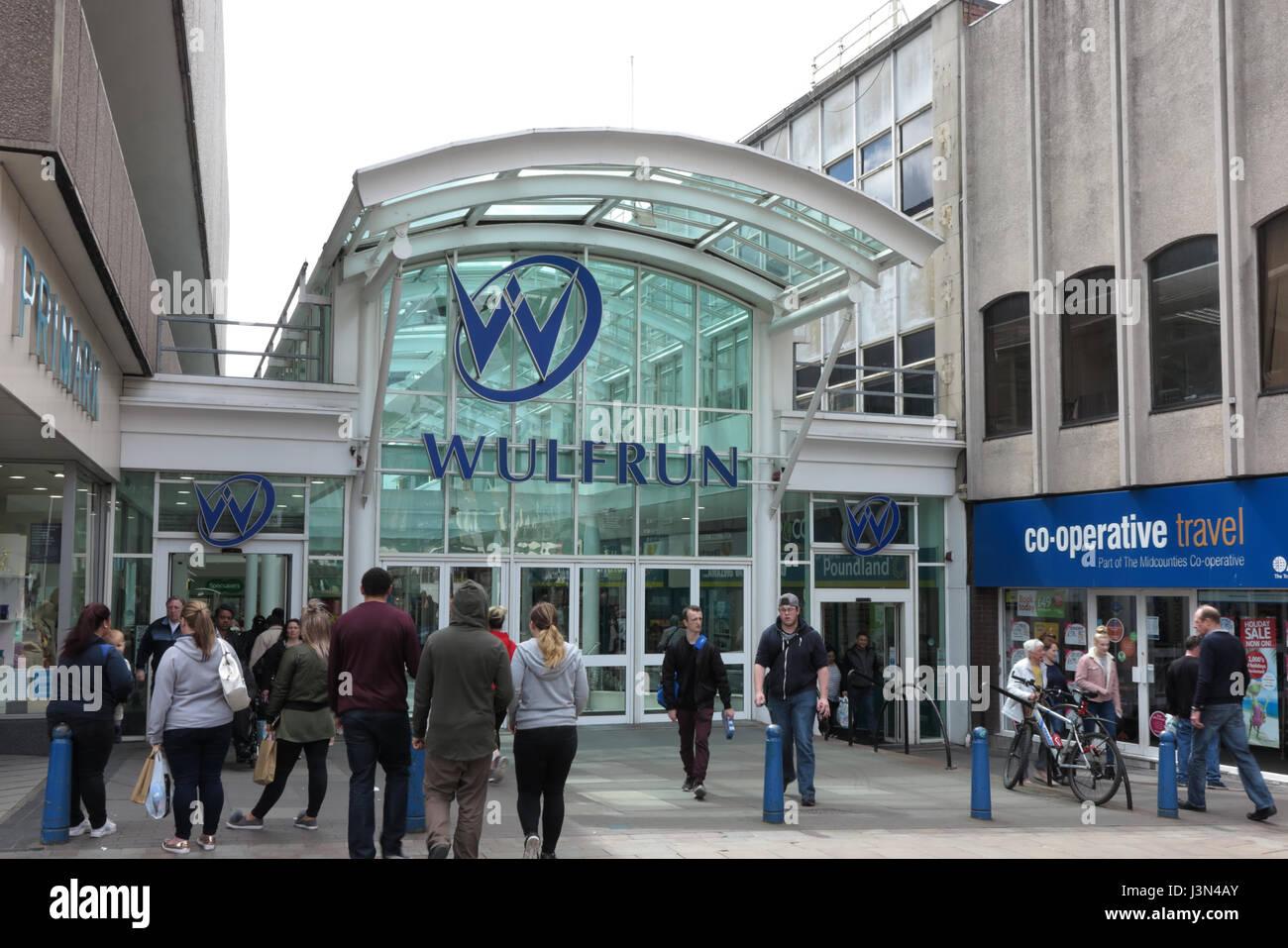 Dudley Street, Wolverhampton - Stock Image