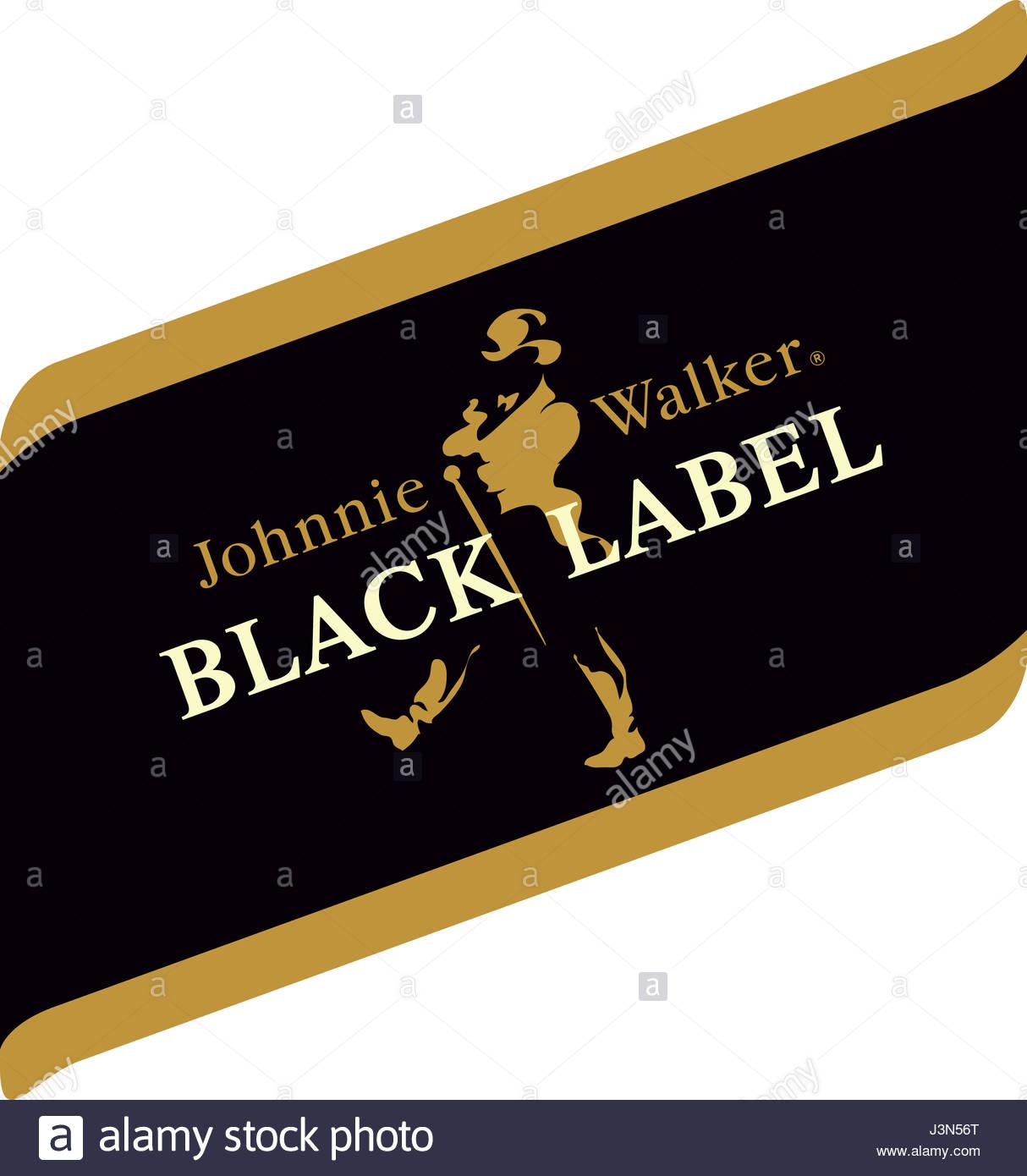 Black Label Johnnie Walker Whiskey Stock Photo 139992016 Alamy